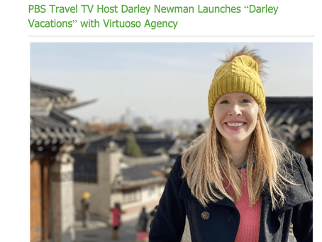Insider Travel Report & Tavel Weekly Feature Darley Vacations Launch