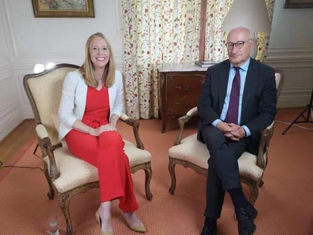 Darley Interviews the French Ambassador LIVE