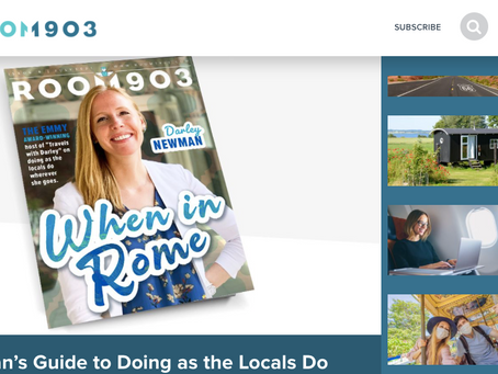 Room 1903 Features TV Host Darley Newman on Cover