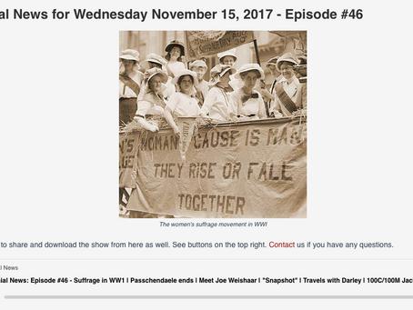 WWI Centennial News Podcast