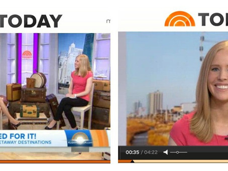 The Today Show: Darley Shares Travel Tips