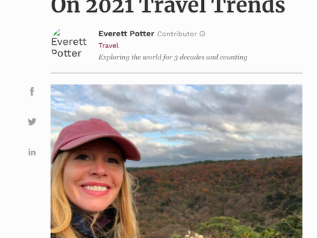 Forbes Features Darley's 2021 Travel Predictions