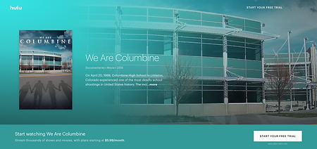 We Are Columbine on Hulu