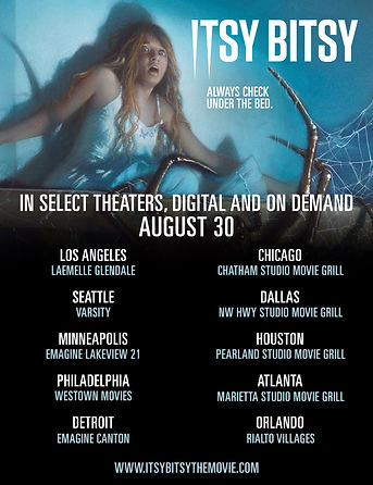Itsy Bitsy in Select Theaters