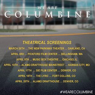 We Are Columbine Theatrical Screenings