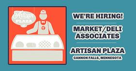 Now HIring Market/Grocery/Deli Clerk, Cannon Falls, MN