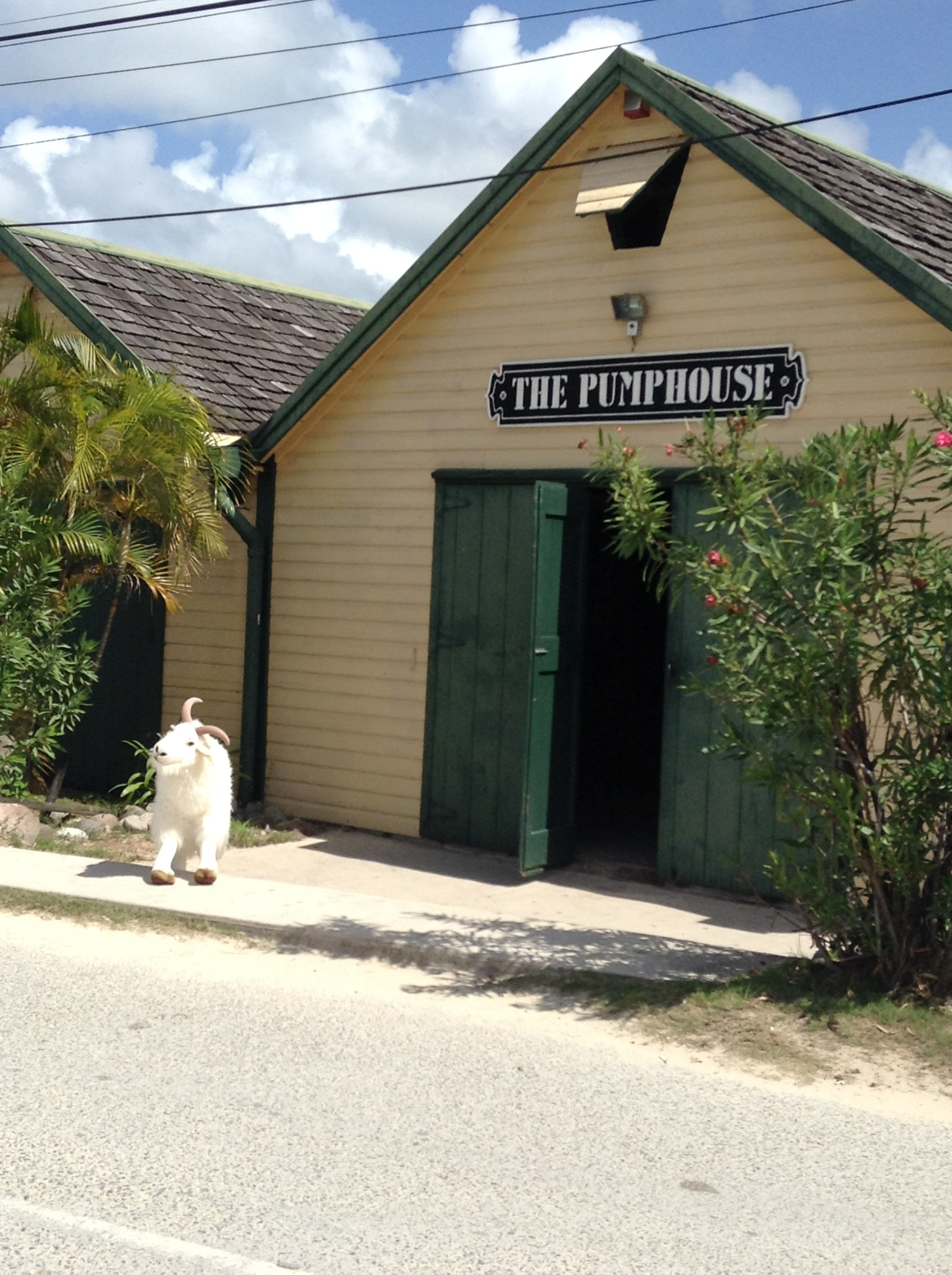 Billy Tours the Pumphouse