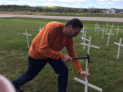 FR JIM WITH CROSSES