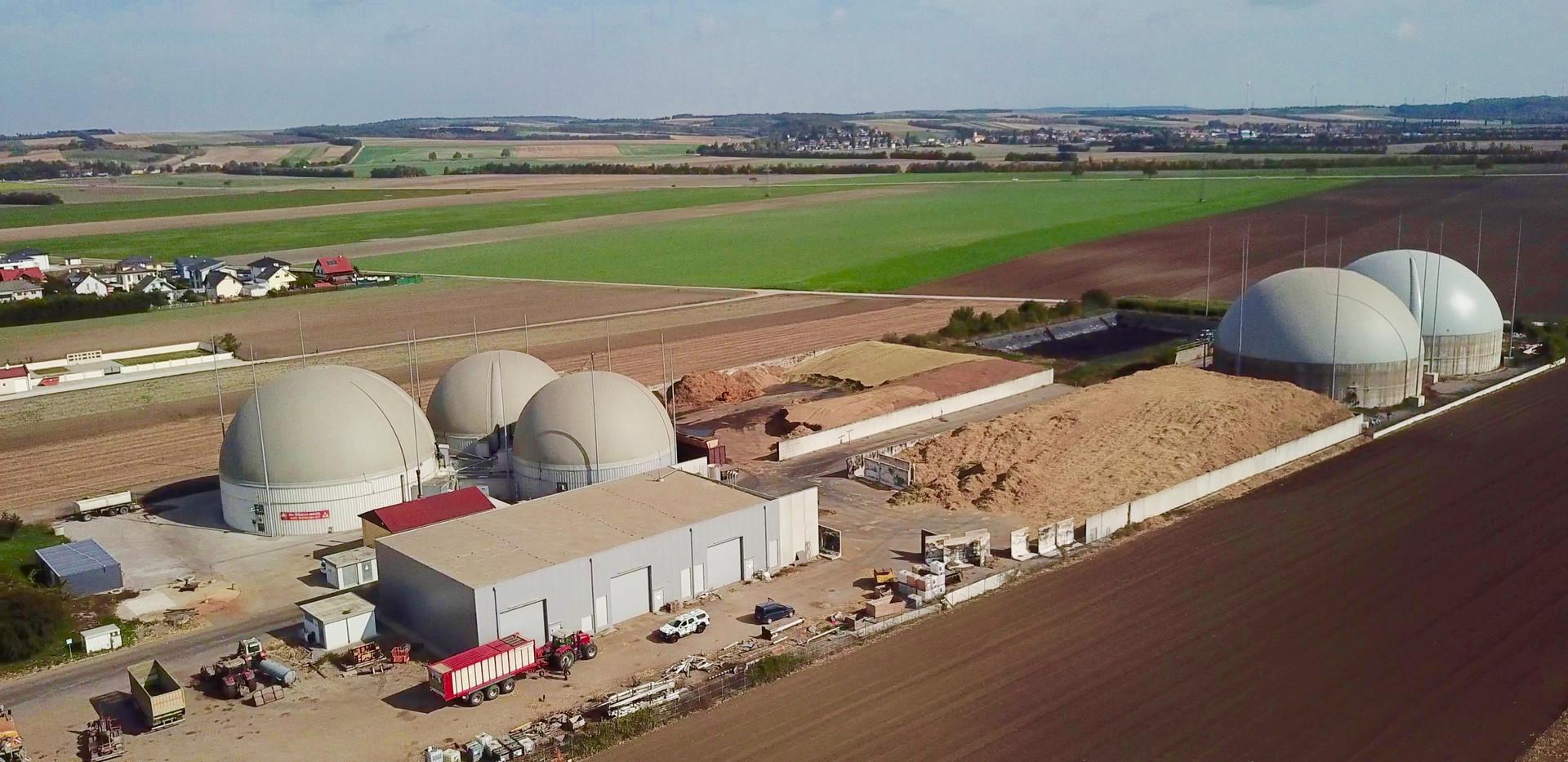 Biogasanlage_EVM_Vogelperspektive
