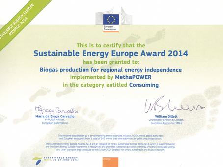 Sustainable Energy Europe Award 2014