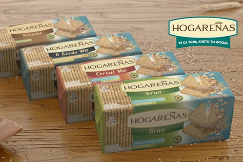 Galletitas Hogareñas 6 Mix cereales