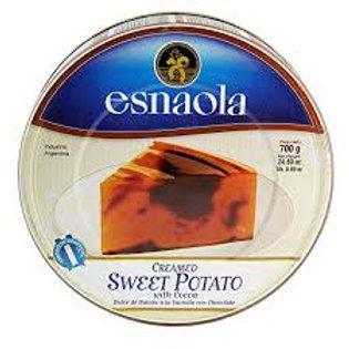 DULCE DE BATATA CON CHOCOLATE ESNAOLA X 700 GRS.