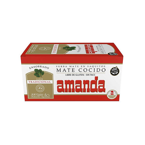 MATE COCIDO AMANDA 25 SOBRES.