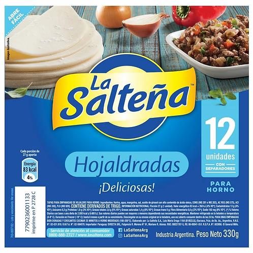 TAPA DE EMPANADAS LA SALTEÑA HOJALDRE