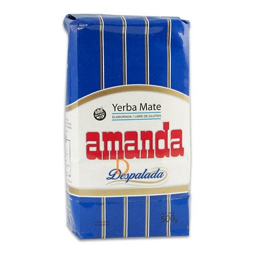 YERBA MATE AMANDA DESPALADA 500 GRS.