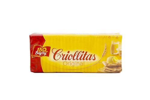 GALLETITAS CRIOLLITAS X 100 GRS.