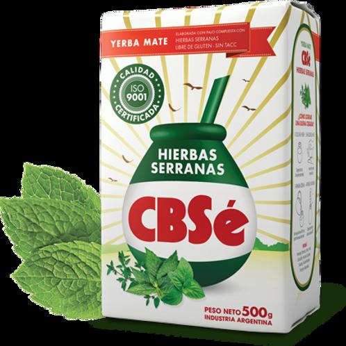 YERBA MATE CBSé HIERBAS SERRANAS 500 GRS.