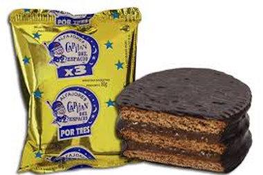 CAPITAN DEL ESPACIO CHOCOLATE TRIPLE