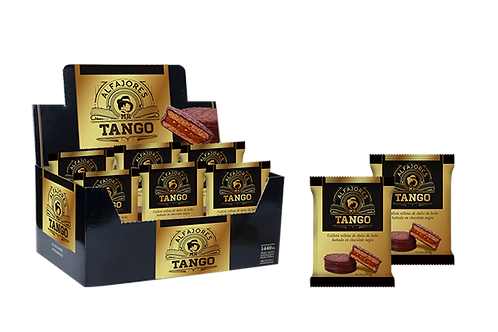 ALFAJOR CHOCOLATE MR TANGO X 12 UNID.