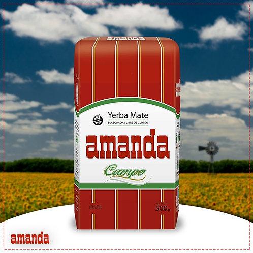 YERBA MATE AMANDA CAMPO 500 GRS