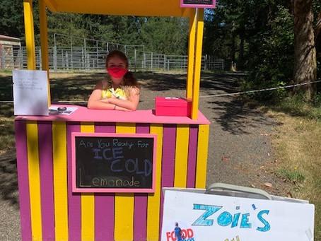 Zoie's Lemonade Stand!