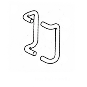 PH-2000-9 :: Offset Door Pull Set