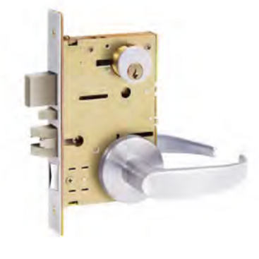 Mortise Lockset - Apartment Entry F09- Grade 1