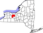 Ontario County Map