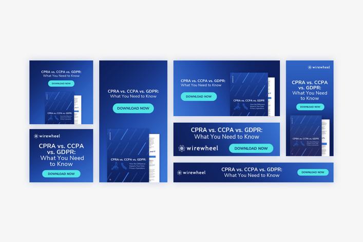 CPRA vs CCPA vs GDPR Cheat Sheet - Paid Ads