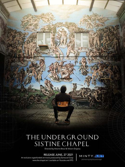 The-Underground-Sistine-Chapel_Affiche-D