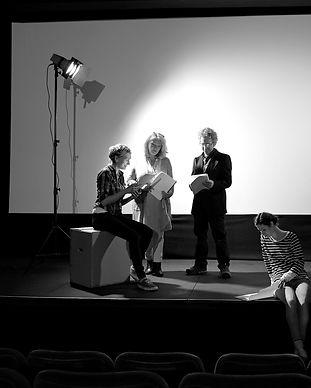 Actors Rehearse