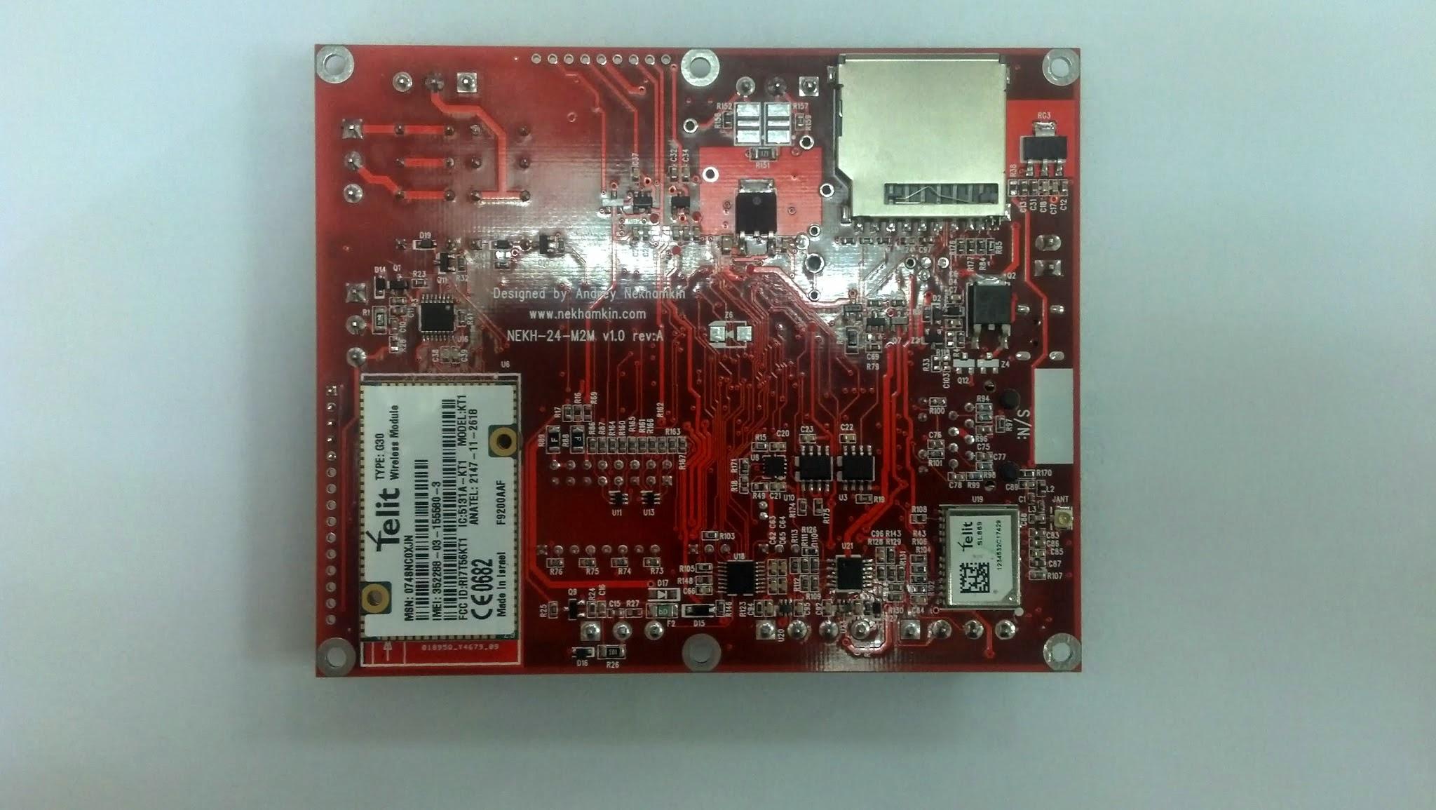 Link2M-U basic device (bottom)
