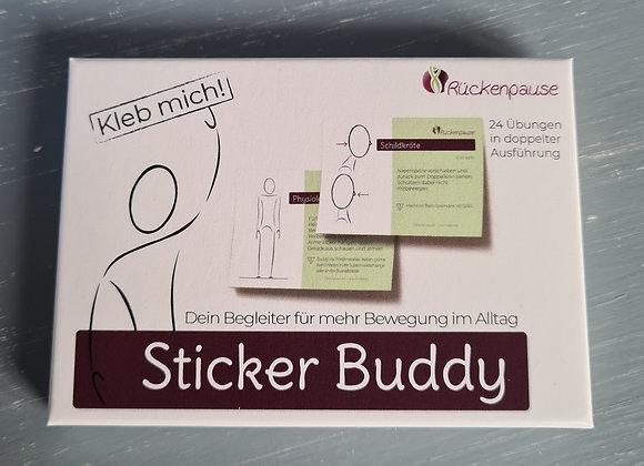 Rückenpause Sticker Buddy