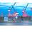Thumbnail: elbbote Frühstücksbrettchen Hamburger Hafen Dock
