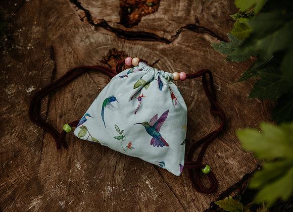 Evergreen Vagabonds Mini Rucksack/Turnbeutel Wanderer (Kolibri)