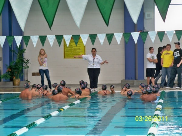 warm up for swimming meet pictures