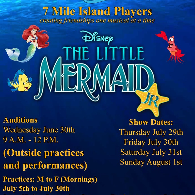 4 Performances July 29th, July 30th, July 31st, and August 1st.