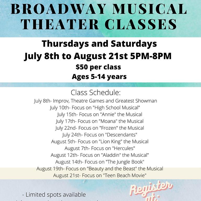 Musical Theater Fun Nights