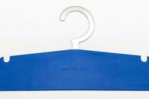 Hassle Free Hanger - Royal Blue 12 pack