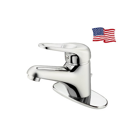 Tobago basin mixer with blanking plate