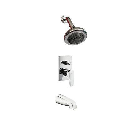 Leo concealed bath/shower mixer set