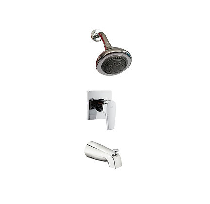 Leo concealed bath/shower mixer set