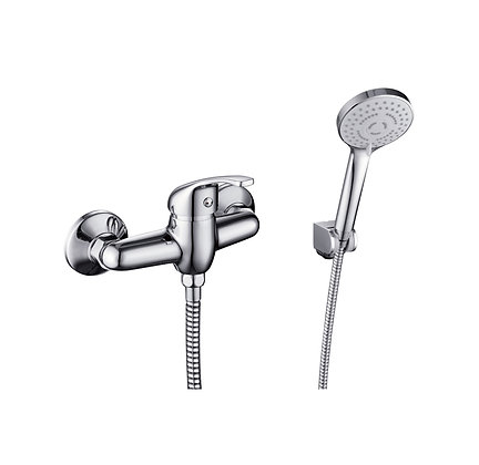 Annick exposed shower mixer set