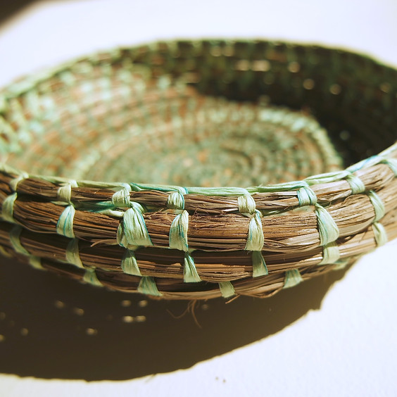 Raffia Weaving Workshop 6/08