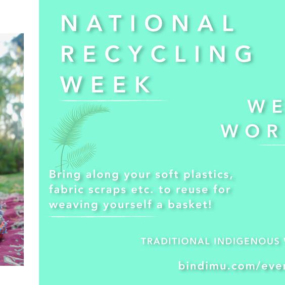 National Recycling Week | Weaving Workshop