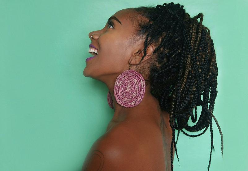 Royalty | Raffia Earrings
