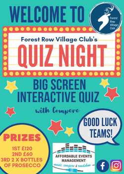 FRVC Quiz Night Welcome