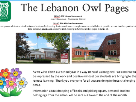 Our May Newsletter