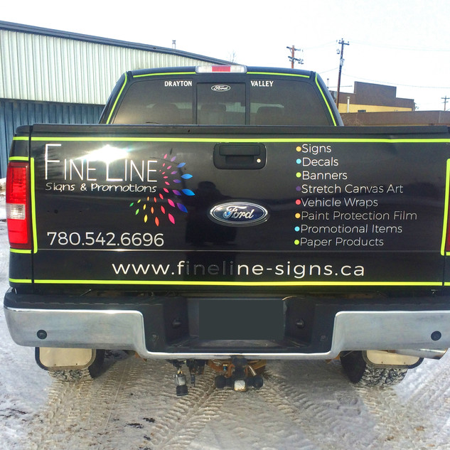 Fine Line Truck Decals and Striping