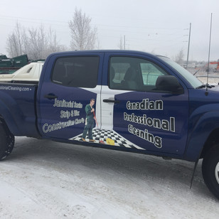 Canadian Professional Cleaning Partial Wrap